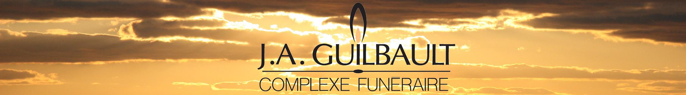 Logo du Complexe Funéraire J.A. Guilbault
